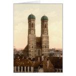Frauenkirche, Munich, Baviera, Alemania Felicitaciones