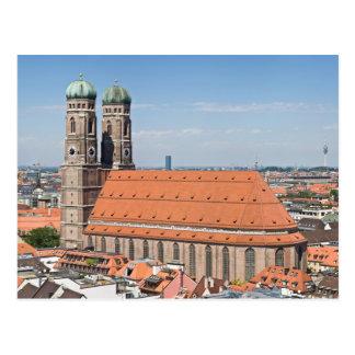 Frauenkirche Munich de Peterskirche Postal