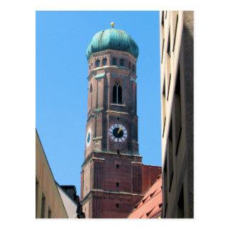 Frauenkirche - Munich, Germany Postcard