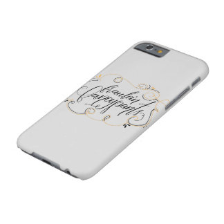 Fraulein Fancypants Funda Barely There iPhone 6