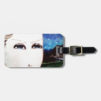 Fraulein Girl Luggage Tag