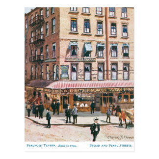 Fraunce's Tavern Postcard