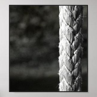 Fraying Rope Poster