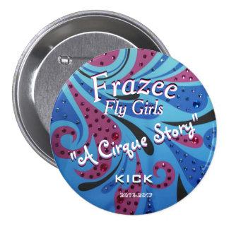 """Frazee Fly Girls 3"""" Fan Button"""