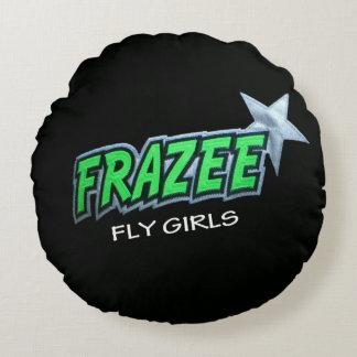 "Frazee Fly Girls Round Throw Pillow (16"")"
