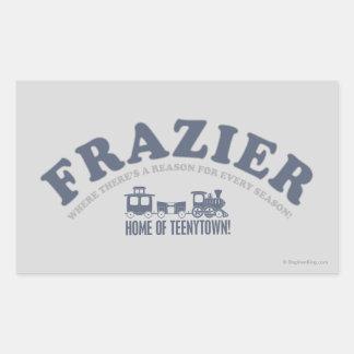 Frazier del doctor Sleep Pegatina Rectangular