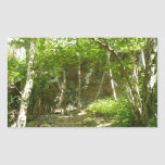 Frazier Discovery Trail at Shenandoah Photography Rectangular Sticker