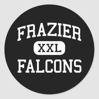 Frazier - Falcons - Continuation - Strathmore Round Sticker