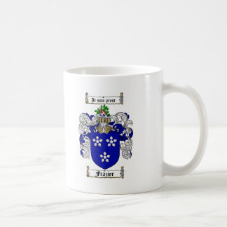FRAZIER FAMILY CREST -  FRAZIER COAT OF ARMS COFFEE MUG