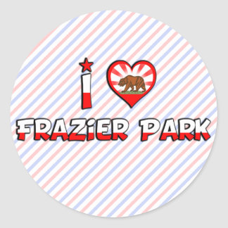 Frazier Park, CA Sticker