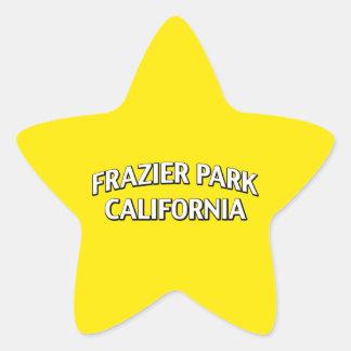 Frazier Park California Star Sticker