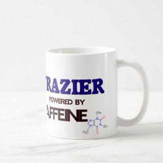 Frazier powered by caffeine coffee mug
