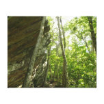 Frazier Rock Wall in Shenandoah National Park Canvas Print