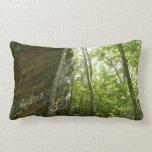 Frazier Rock Wall in Shenandoah National Park Lumbar Pillow