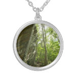 Frazier Rock Wall in Shenandoah National Park Silver Plated Necklace