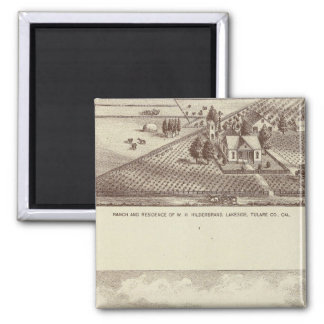 Frazier Valley, Lakeside ranches 2 Inch Square Magnet