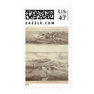 Frazier Valley, Lakeside ranches Postage