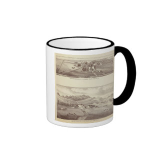 Frazier Valley, Lakeside ranches Ringer Coffee Mug