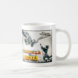 Frazzilla vs Moth Mug