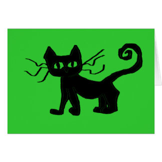 """Frazzle Kitty (5"""" x 7""""), envelopes included Card"""