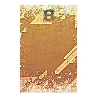 FRAZZLE MONOGRAM B STATIONERY