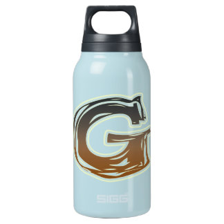 FRAZZLE MONOGRAM G INSULATED WATER BOTTLE
