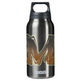 FRAZZLE MONOGRAM M INSULATED WATER BOTTLE
