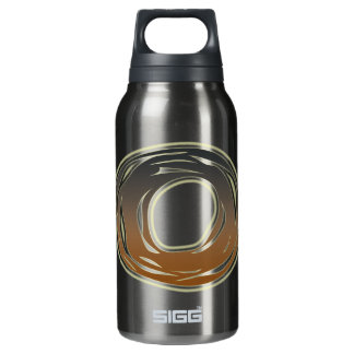 FRAZZLE MONOGRAM O INSULATED WATER BOTTLE