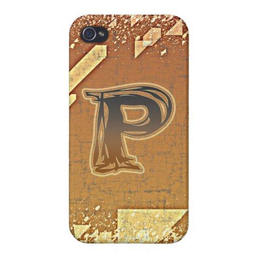 FRAZZLE MONOGRAM P iPhone 4/4S CASE