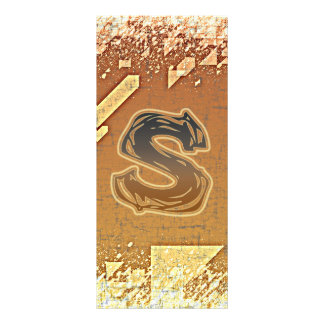 FRAZZLE MONOGRAM S RACK CARD