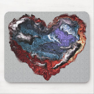 Frazzled Heart Mousepad
