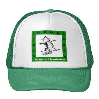 Frazzled Kitty Cap Trucker Hat