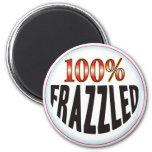 Frazzled Tag Refrigerator Magnet