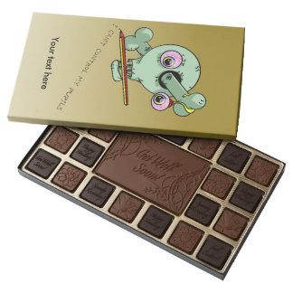 Frazzled Teacher 45 Piece Box Of Chocolates