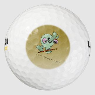 Frazzled Teacher Golf Balls