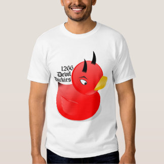 FRC 1266 Devil Duckies Shirt [Red]