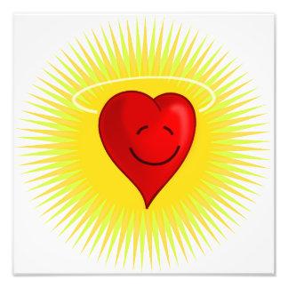 fre feliz del ángel del corazón del dibujo animado fotografía