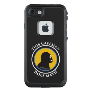 Fre Lifeproof iPhone Case Math Smart Caveman
