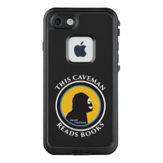 Fre LIfeproof iPhone Case Read Smart Caveman