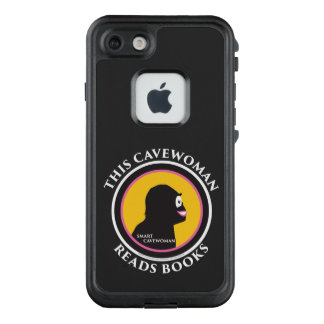 Fre LIfeproof iPhone Case Read Smart Cavewoman