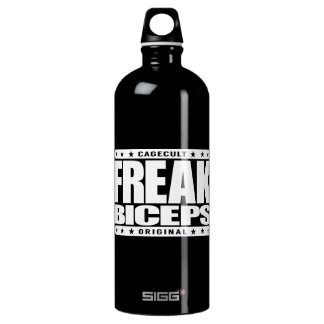 FREAK BICEPS - Beast Mode: Superhuman Arm Strength Water Bottle