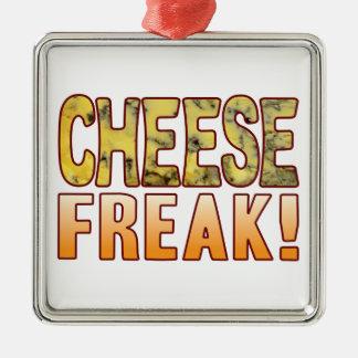 Freak Blue Cheese Metal Ornament