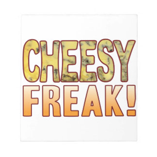 Freak Blue Cheesy Notepad