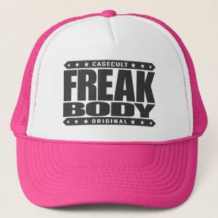 FREAK BODY - Beast Mode  Superhuman Fitness Level Trucker Hat 7c98ba55302f