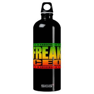 FREAK CEO - Warning: Superhuman Leadership Skills Water Bottle
