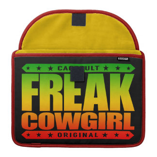 FREAK COWGIRL - A Southern Belle With Superpowers MacBook Pro Sleeve
