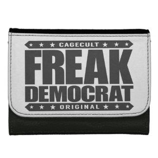 FREAK DEMOCRAT - Fearless Social Justice Warrior Leather Wallet For Women