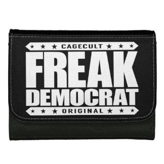 FREAK DEMOCRAT - Fearless Social Justice Warrior Leather Wallets