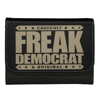 FREAK DEMOCRAT - Fearless Social Justice Warrior Women's Wallets