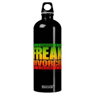 FREAK DIVORCEE - Beast Mode: Newly Divorced Wife Aluminum Water Bottle